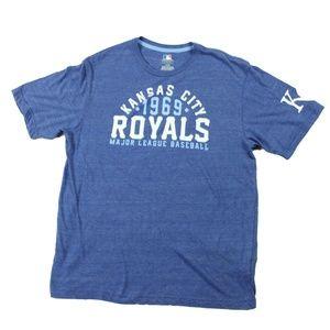 Gentlemen Short Sleeve Shirts Size L Kansas City